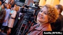 Миләүшә Айтуганова 2016 елда Казан мөселман киносы фестивалендә