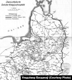 Мапа фронту