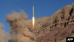 Запуск однієї з іранських ракет, 9 березня 2016 року