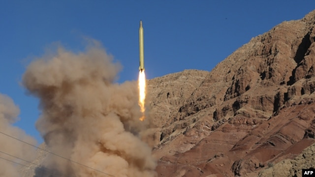 Iranian forces carried out ballistic missile tests in the Alborz mountain range in northern Iran earlier this week.
