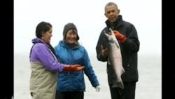 Obama uşaqlarla rəqs etdi
