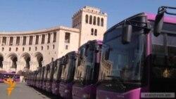 Չինական ավտոբուսները երթուղի դուրս եկան
