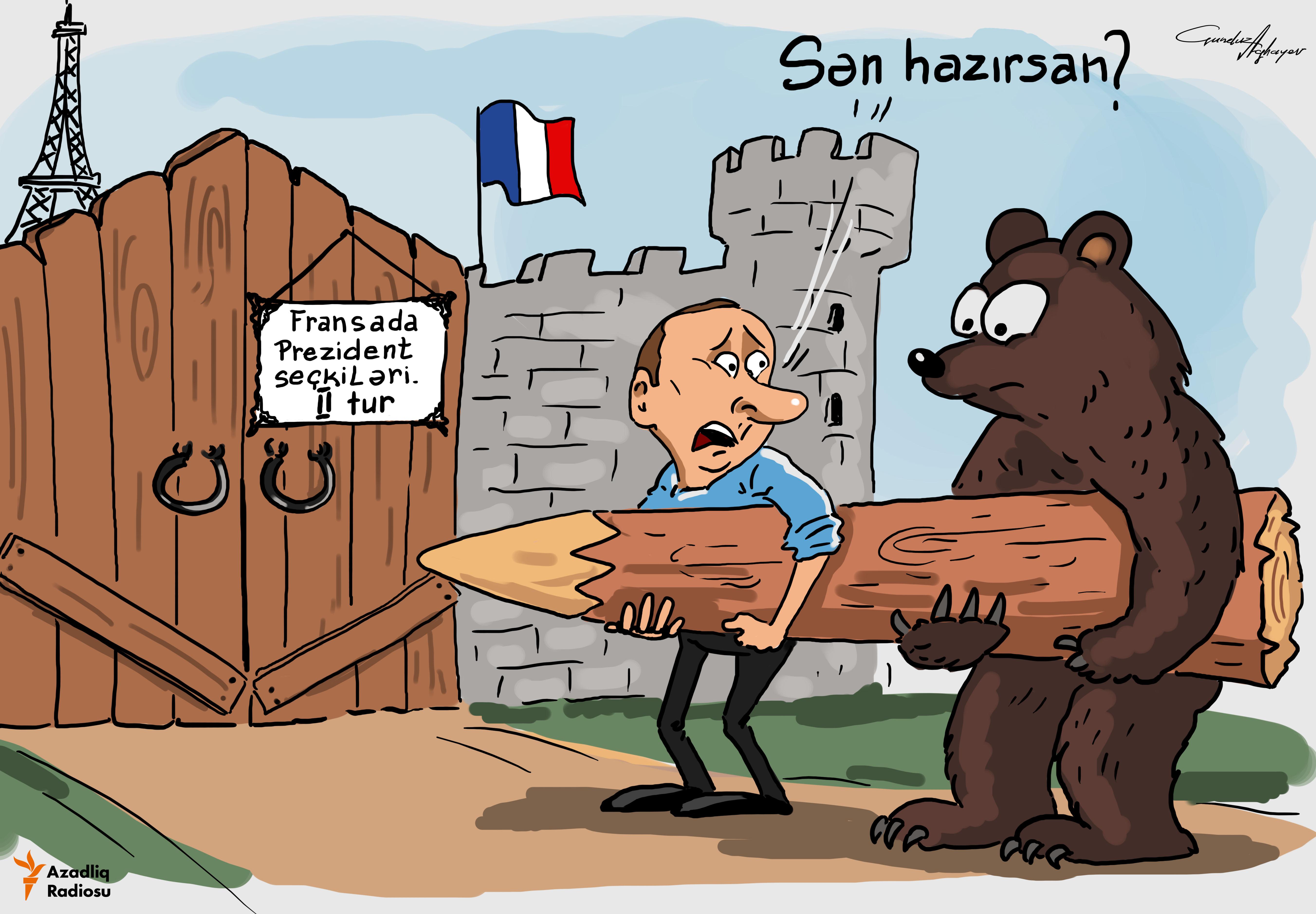 Putin-in hazırlığı