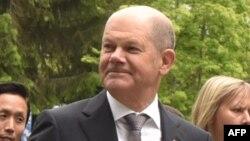اولاف شولتز وزیر دارایی آلمان