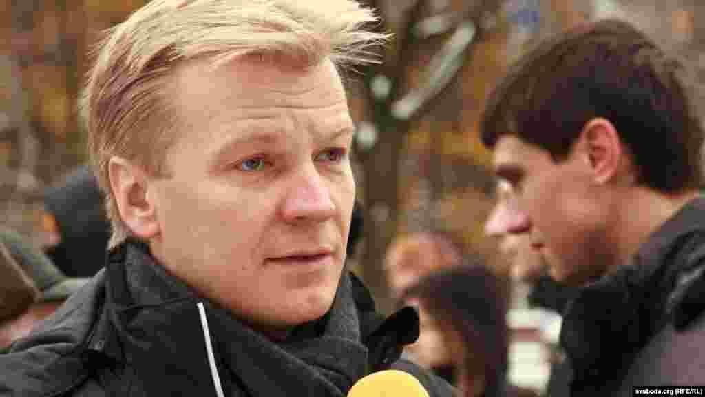 Сустаршыня стваранай партыі БХД Віталь Рымашэўскі
