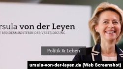 Ministrja e Mbrojtjes e Gjermanisë, Ursula von der Leyen.