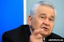 Вітольд Фокін, прем'єр-міністр України у 1991–1992 роках. Київ, 28 лютого 2008 року