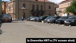 Poljana Maršala Tita, foto isječak iz Dnevnika HRT-a