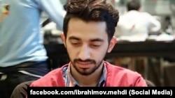 AXCP üzvü Məmməd İbrahimin oğlu Mehdi İbrahimov, arxiv foto