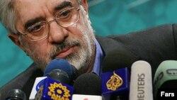 میرحسین موسوی، نامزد دهمین دوره انتخابات ریاست جمهوری