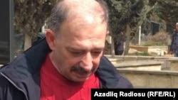 Азербайджанский журналист Рауф Миркадыров.