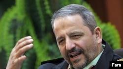سردار اسماعیل احمدی مقدم، فرمانده نیروی انتظامی . (عکس از فارس)