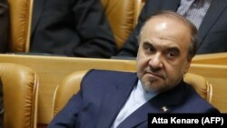 Iranian Minister of Sports and Youth Affairs, Masud Soltanifar.