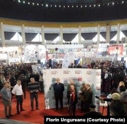 Romania - Festivities at Gaudeaus Book Fair November 2018, Bucharest