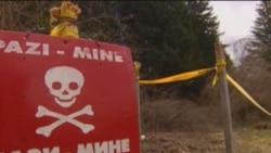 At Work In Bosnia's Minefields