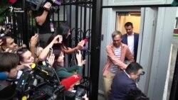 Журналист Иван Голунов вышел на свободу