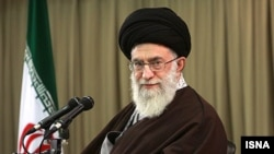 Ayatollah Ali Khamenei -- above criticism no longer.