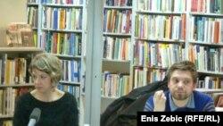 Ivana Simic Bodrožić i Boris Postnikov
