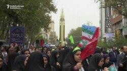 Iranul își expune rachetele balistice pentru a marca aniversarea ocupării ambasadei SUA la Teheran