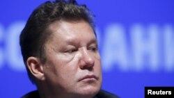 """""""Газпром"""" компаниясы басшысы Алексей Миллер."""