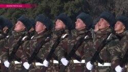 Республиканская гвардия Казахстана приняла присягу