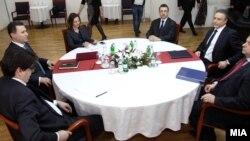 Takimi i Gruevskit dhe Cërvenkovskit