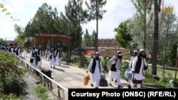 د افغان حکومت له لوري یو شمېر ازاد شوي طالب بندیان