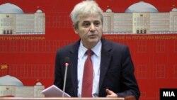 Претседателот на ДУИ, Али Ахмети.