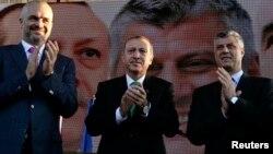 Premijeri Albanije, Turske i Kosova: Edi Rama, Tayyip Erdogan i Hashim Thaci
