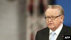 Marti Ahtisaari - foto nga arkivi