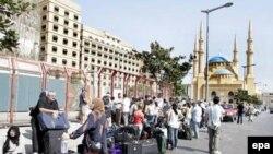 По данным МИД, в Ливане находится от 1,5 до 2 тысяч российских граждан