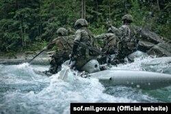 Горная подготовка является неотъемлемой составляющей подготовки воинов ССО. Фото с официального сайта ССО Украины