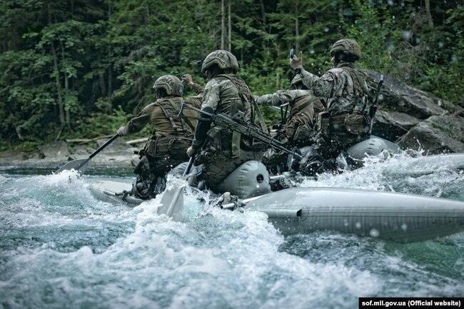 Гірська підготовка є невід'ємною складовою підготовки воїнів ССО. Фото з офіційного сайту ССО України