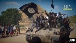 Militantët e Boko Haramit në Nigeri