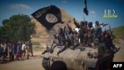 Militantë të Boko Haramit në Nigeri