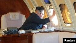 Ким Чен Ын, Солтүстік Корея басшысы.