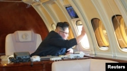 Лидер Северной Кореи Ким Чен Ын. Архивное фото.
