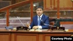 عبدالقادر ځاځی وطن دوست منشی ولسی جرگه افغانستان
