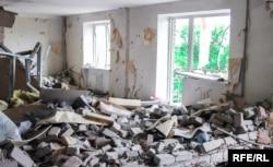 Разрушенный дом в Авдеевке (иллюстрационное фото)