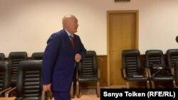 Жуматай Алиев во время заседания Верховного суда, Нур-Султан, 15 мая 2019 года.