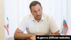 Голова Госкомрегістру Криму Олександр Спиридонов