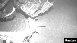 Обломки разбившегося лайнера