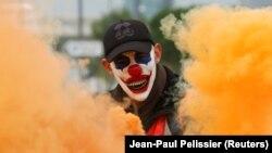 Протесты в Марселе. Декабрь 2019 года