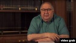 Российский олигарх узбекского происхождения Алишер Усманов.