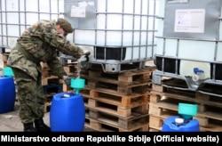 "Alkohol za potrebe vojske stigao je iz fabrike ""Prva iskra - Namenska"""