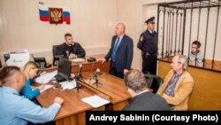 Судебное заседание о продлении меры пресечения Павлу Грибу