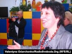 Директор комплексу українських шкіл у Бартошицях Любомира Тхір