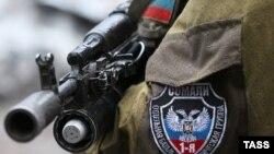 Боєць підрозділу «Сомалі» проросійських бойовиків (Ілюстраційне фото)