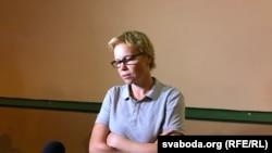 Головний редактор Tut.by Марина Золотова після звільнення, Мінськ, Білорусь, 9 серпня 2018 року