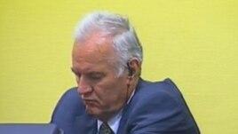 Ratko Mladić na suđenju, 16. srpanj 2012.